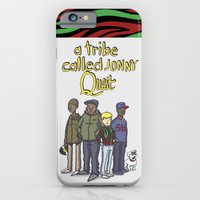 iPhone & iPod Case featuring A Tribe Called Jonny Quest by Donta Santistevan