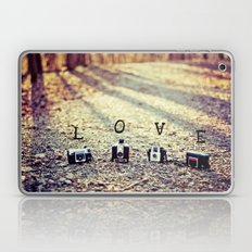 Meeting in the Forest - Vintage Camera Love Laptop & iPad Skin