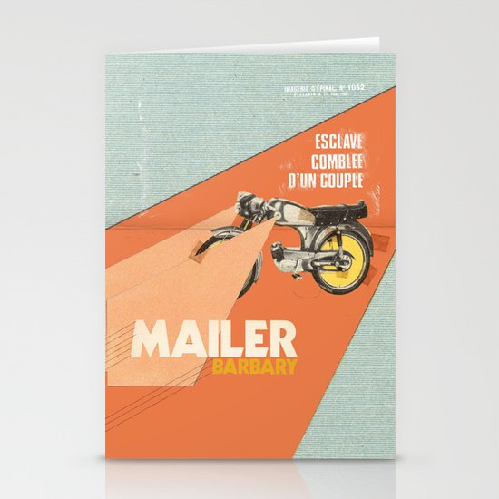 Mailer Barbary Stationery Card