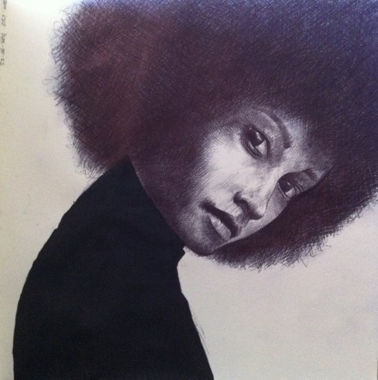 afro 1 Art Print