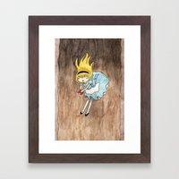 alice Framed Art Print