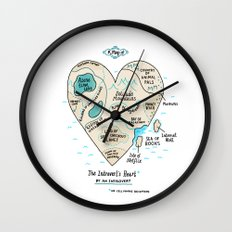 A Map Of The Introvert's… Wall Clock