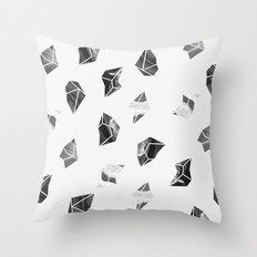 Marble Fragments Throw Pillow