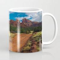 Red Desert Day Mug