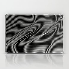 Minimal curves black Laptop & iPad Skin