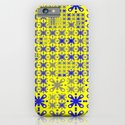 Sweet Pattern 05 yellow blue iPhone & iPod Case