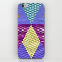 Isometric Harlequin #9 iPhone & iPod Skin