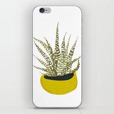 Zebra Cactus iPhone & iPod Skin