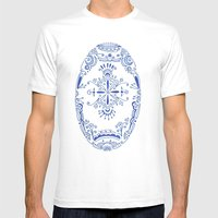Hue Mens Fitted Tee White SMALL