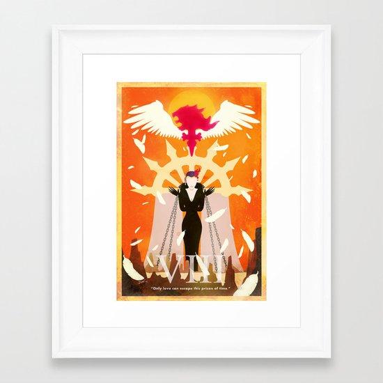 Vintage FF Poster VIII Framed Art Print