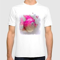 the pink fish Mens Fitted Tee White SMALL