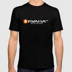 Kuassa  SMALL Black Mens Fitted Tee