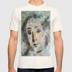 PUZZLED VENUSIAN FACE  Mens Fitted Tee Natural SMALL