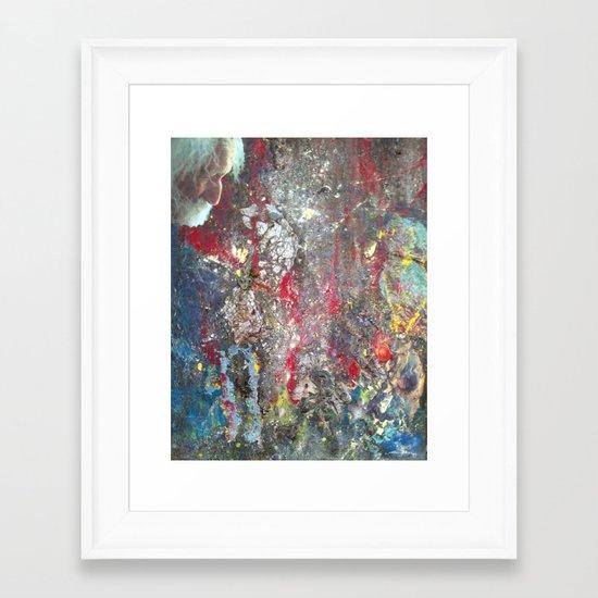 Austere Framed Art Print