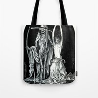Death And The Maiden II Tote Bag