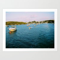Out At Sea | Sail Boats … Art Print