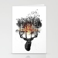 Ashes To Ashes. Stationery Cards
