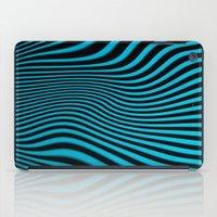 Stripes In Blue iPad Case