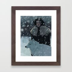 jonsnow Framed Art Print