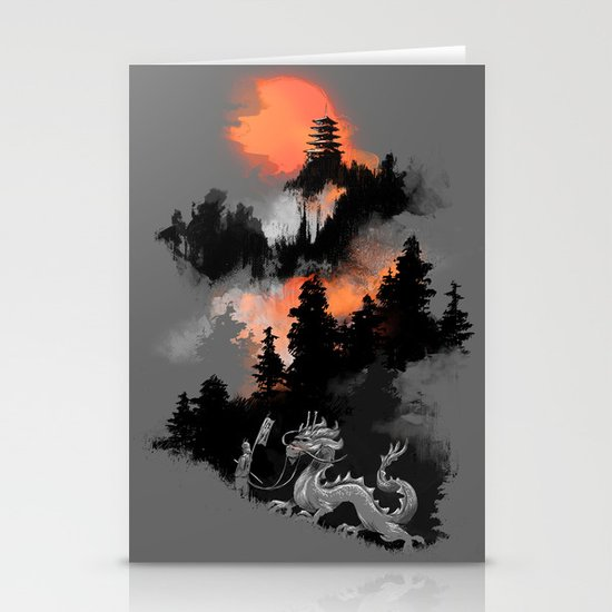 A samurai's life Stationery Card