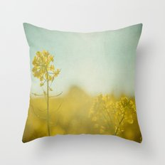 Spring Sun Throw Pillow