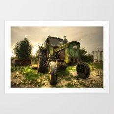 John Deere 2130  Art Print