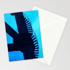 Climb On Blue Stationery Cards