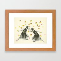 Dance : Gemini Framed Art Print