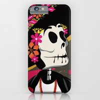 Dia de los Muertos Woman iPhone 6 Slim Case