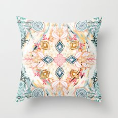 Wonderland in Spring Throw Pillow