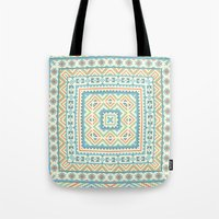 Square Pattern  Tote Bag