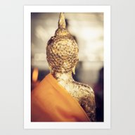 Buddha The Other Side  Art Print