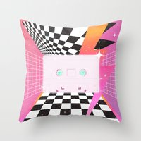 Cassette (feat. Marta Macedo) Throw Pillow