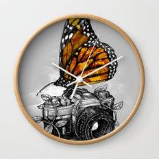 Nature Photography Wall Clock