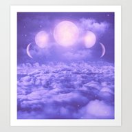 Art Print featuring Uncertain. Alone. Crater… by Soaring Anchor Desig…