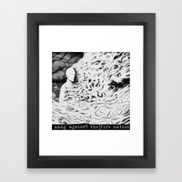 Aang Against The Fire Na… Framed Art Print