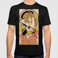 Chronos Nouveau Mens Fitted Tee Tri-Black SMALL