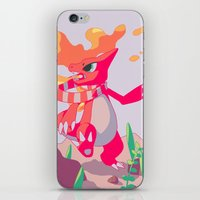 A Melody In Fire iPhone & iPod Skin