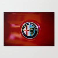 Alfa Romeo Canvas Print