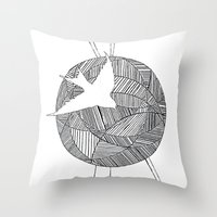 Celerity Throw Pillow