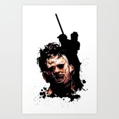 Leatherface: Monster Madness Series Art Print