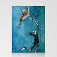 dream - the escape Stationery Cards