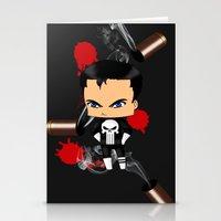 Chibi Punisher Stationery Cards