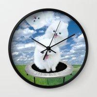 Launch Pad Wall Clock