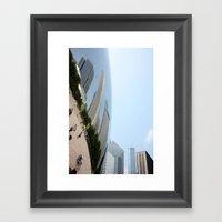 Distort Framed Art Print