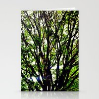 Leaves And Branches 3 Stationery Cards