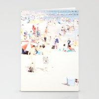 Blue Beach Brooklyn Stationery Cards