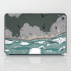 Stormy seas iPad Case