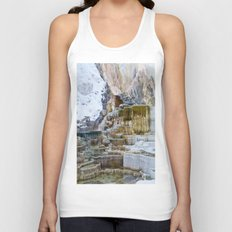 Yellowstone Hot Springs Unisex Tank Top