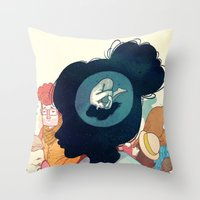 Inside Yourself Throw Pillow